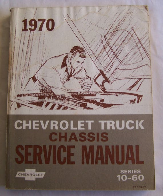 OEM Maintenance Owner/'s Manual Bound for Chevy Truck 10-30 Series 1970