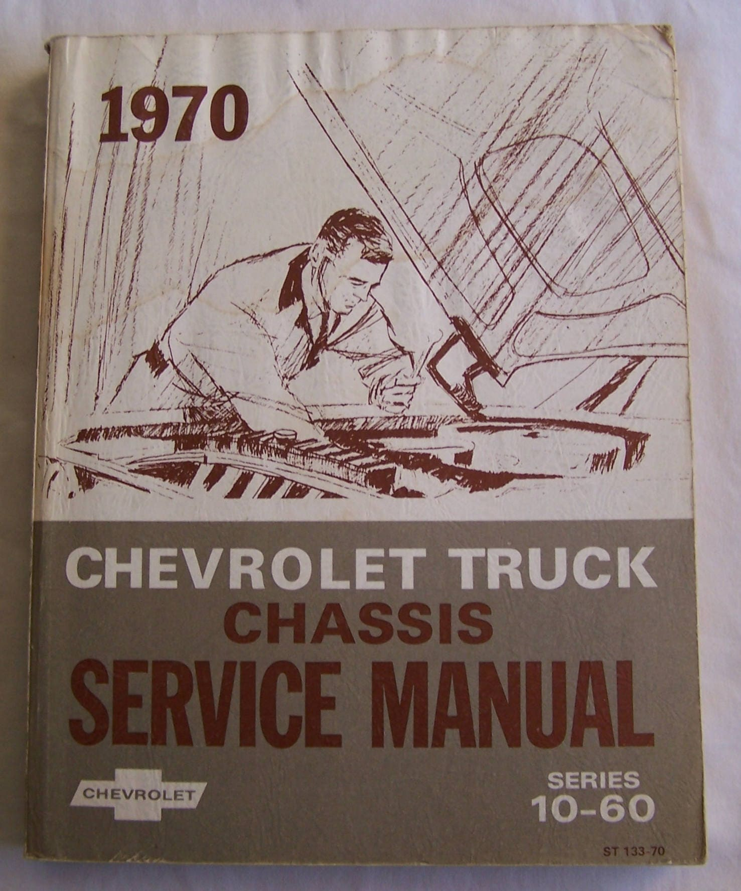Chevrolet Truck Chassis GM Service Manual, 1970 Series 10 - 60