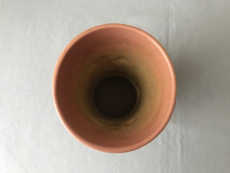 Vintage Roseville Pottery Apple Blossom 6 vase