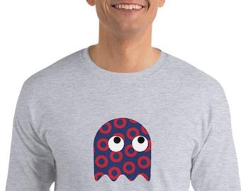Red Circle Donut Embroidered Champion Bomber Jacket-Phish Jacket-Phish Gift-Phish Inspired-Phreaking Awesome