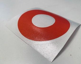 Phish Dounut Cirlce Logo Vinyl Sticker