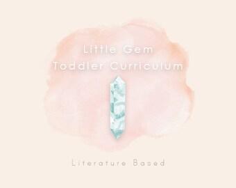 Little Gem Toddler Curriculum: Literature Based (Growing Curriculum)