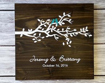 Wedding Guest Board, Guest Book Alternative, Unique Guestbook, Leaf Guest Book, Tree Guest Book, Wood Guest Board, Guest Book w/ 75 leafs