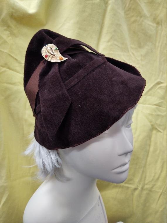1940's Tilt Small Hat