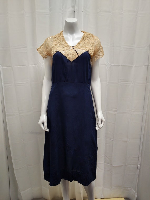 1930's Crepe dress