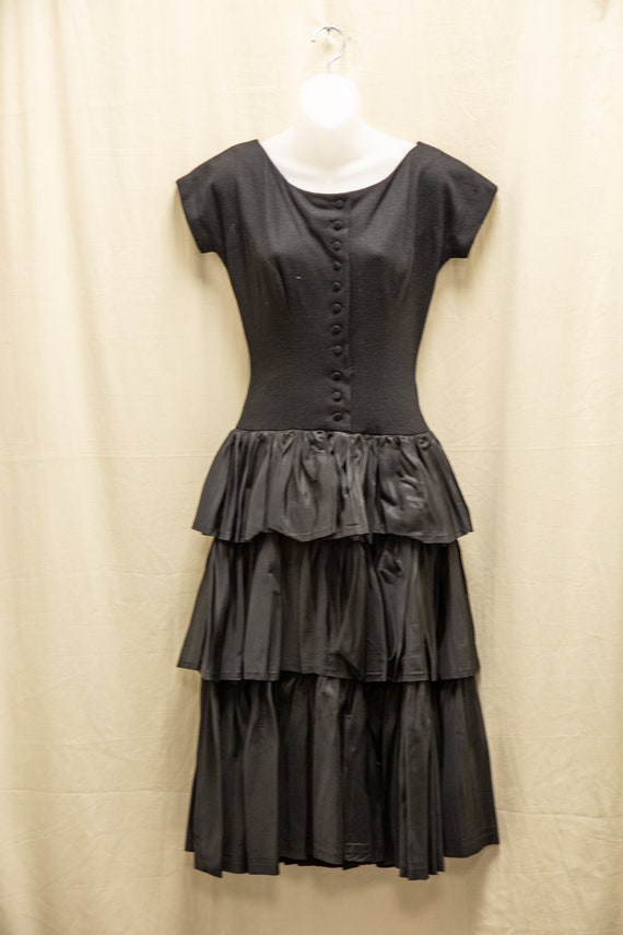 1950's Junior House Milwaukee Cocktail Party Dress