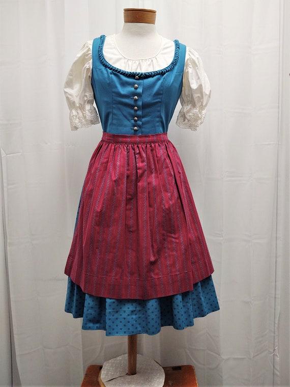 Dirndl Hanna dress, blouse and apron