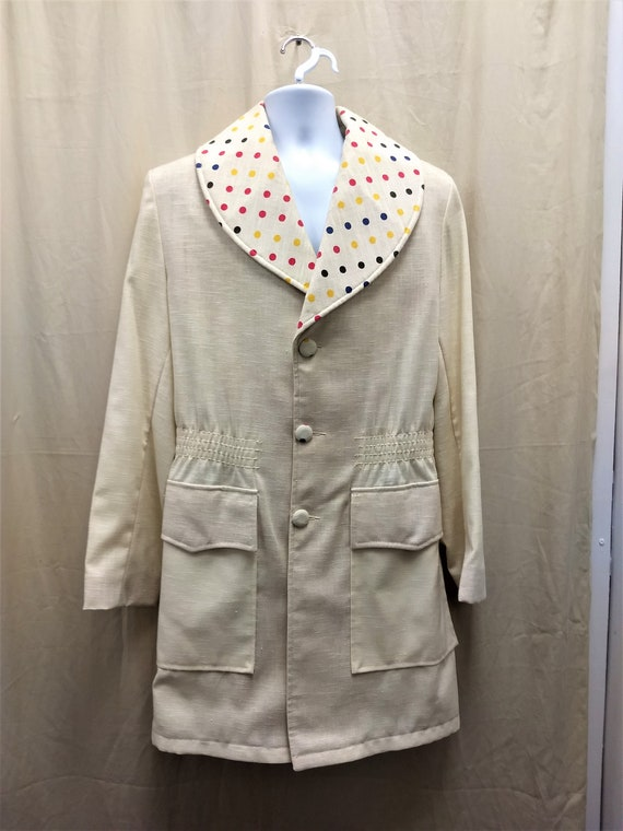 Rare, 1970's Men's Sports coat, Jacket Studio 54