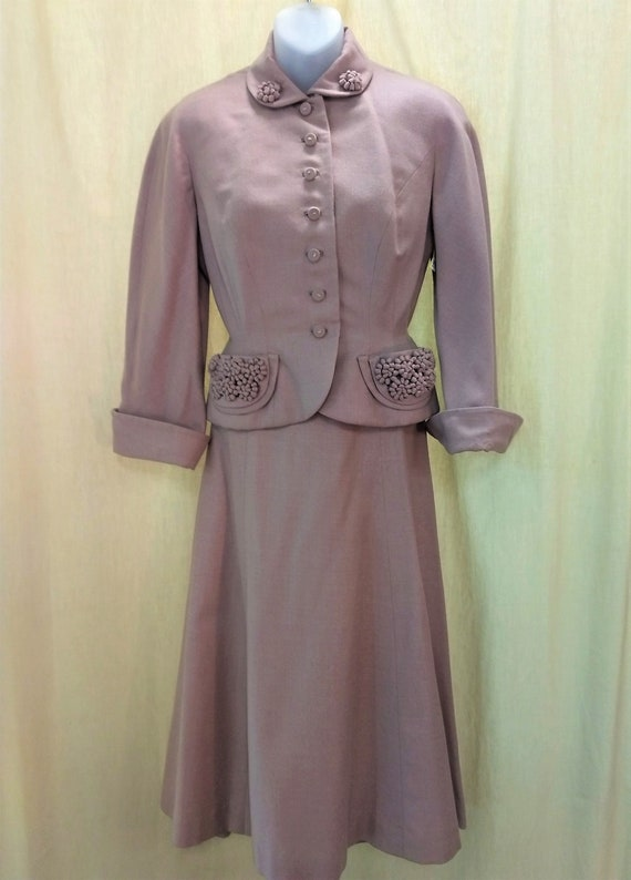 Incredible! Rare!  1940's Woman's two piece fall s