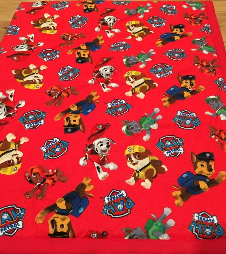 79142bca Toddler Blanket Paw Patrol Chase Marshall Zuma Rocky   Etsy
