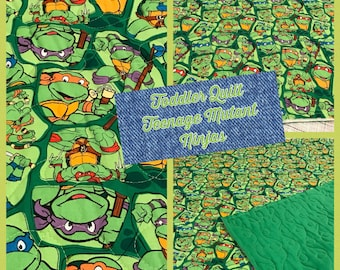Toddler Quilt, Teenage Mutant Ninja Turtles,