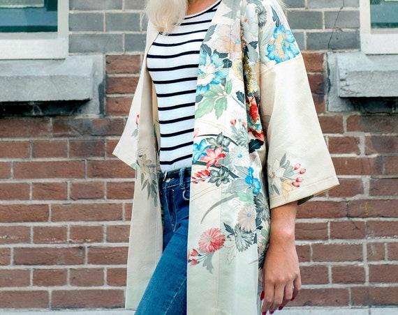 Japanese Kimono Jacket HANAE
