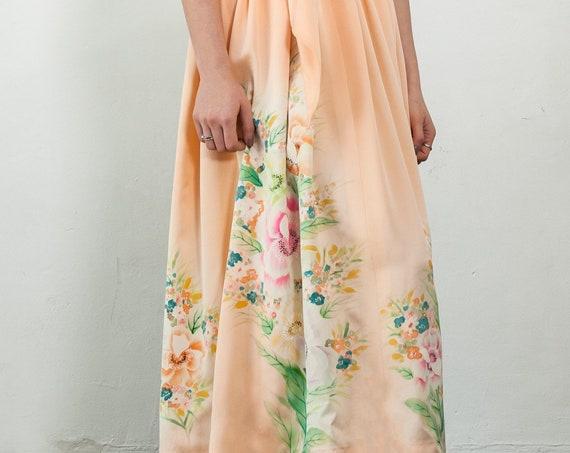 Japanese Kimono Skirt KASUMI