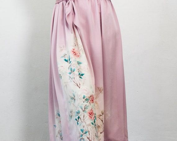 Japanese Kimono Skirt KAREN