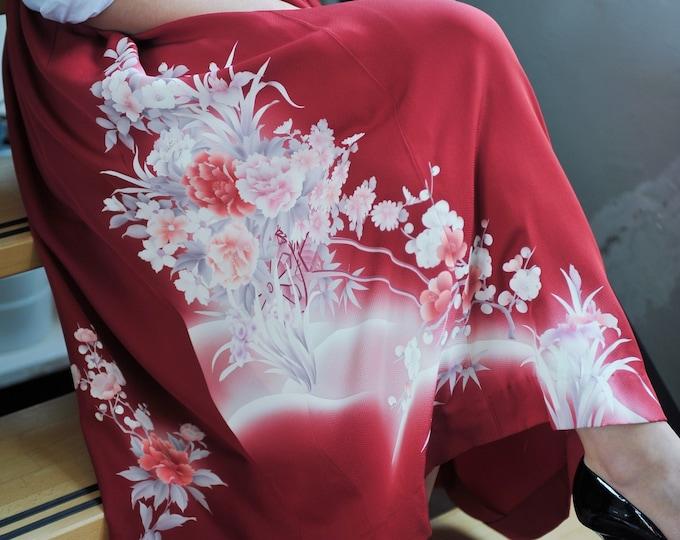 Japanese Kimono Skirt MIWA