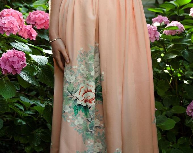 Japanese Kimono Skirt HARUNA