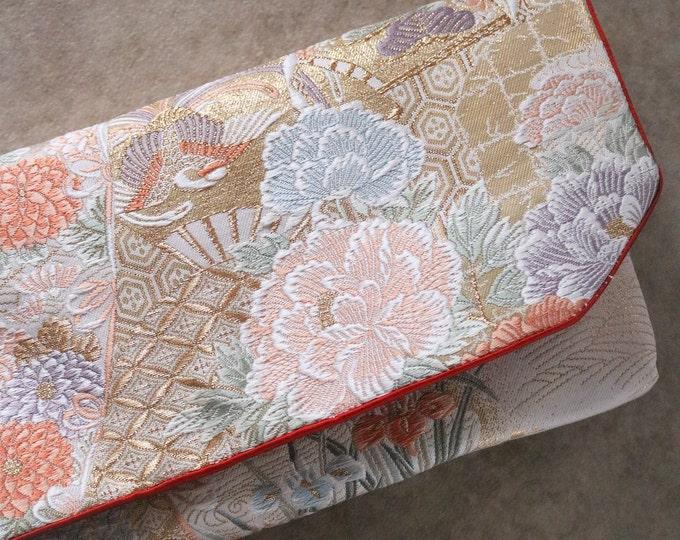 Japanese Kimono Obi Clutch Bag