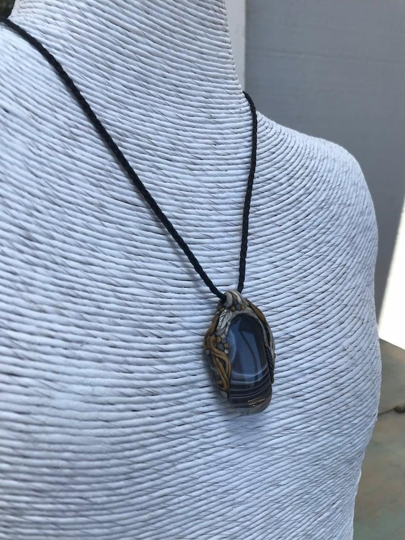 Storm Agate  Necklace