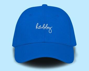 af848a02 hubby Dad Cap Emboidery Baseball Cap Unisex Size Hat Pinterest Instagram  Tumblr