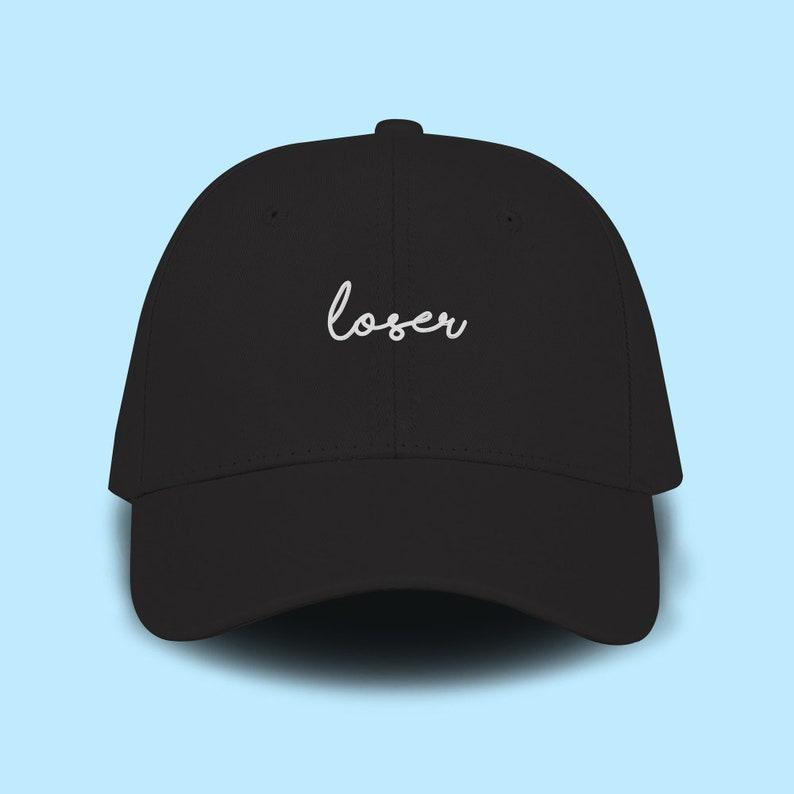 release date: a4900 541c4 Loser Dad Cap Emboidery Baseball Cap Unisex Size Hat Pinterest   Etsy
