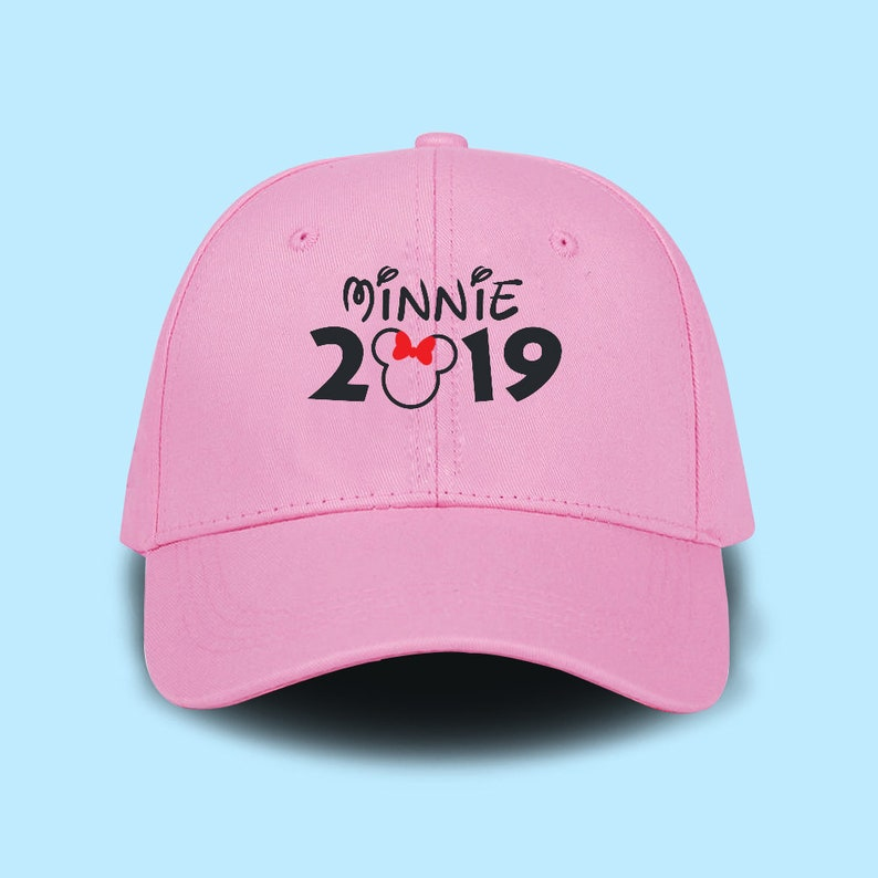 pretty nice f0853 c6c51 Minnie 2019 Dad Cap Emboidery Baseball Cap Unisex Size Hat   Etsy
