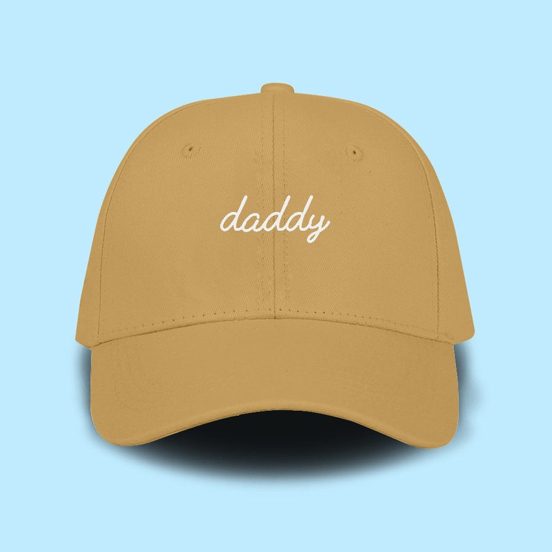best authentic 52399 fae02 Daddy Dad Cap Emboidery Baseball Cap Unisex Size Hat Pinterest   Etsy