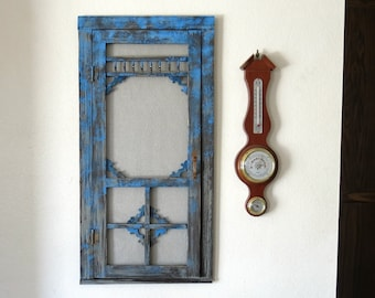 Mini Wooden Screen Door For Wall Decoration, Tree Decor, Etc.