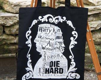 Tote Bag Black - Alan Rickman Tribute