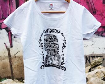 T-shirt - Alan Rickman tribute - white