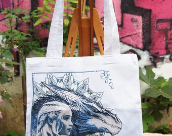 Tote Bag Game of Thrones - Mandala - Mother of Dragons
