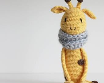 Amigurumi crochet pattern * LuiGiraffe* language: english * PDF Giraffe