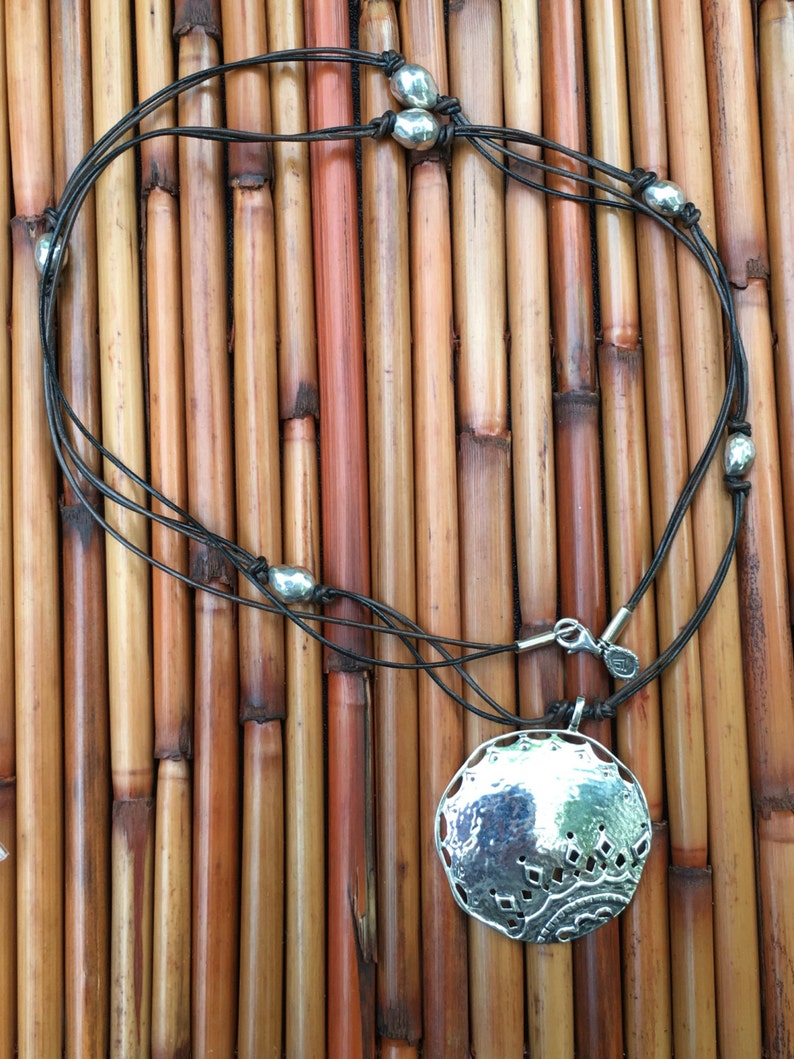 N3111 Sterling Silver Vintage Retired Prince and the Pauper Necklace