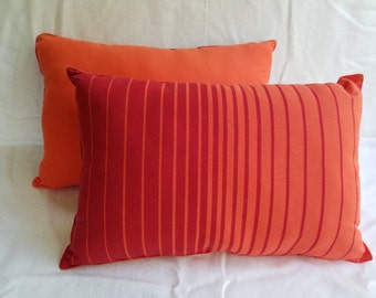 Sunset Stripe Pillow