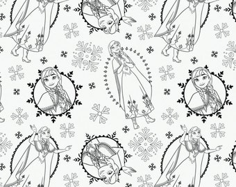 In Stock NEW Disney Fabric Frozen Coloring Collection