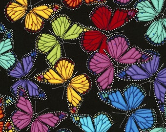Butterfly Fabric Etsy