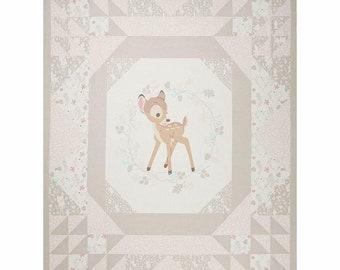 Disney Fabric 100/% Cotton Bambi Woodland Dreams Panel