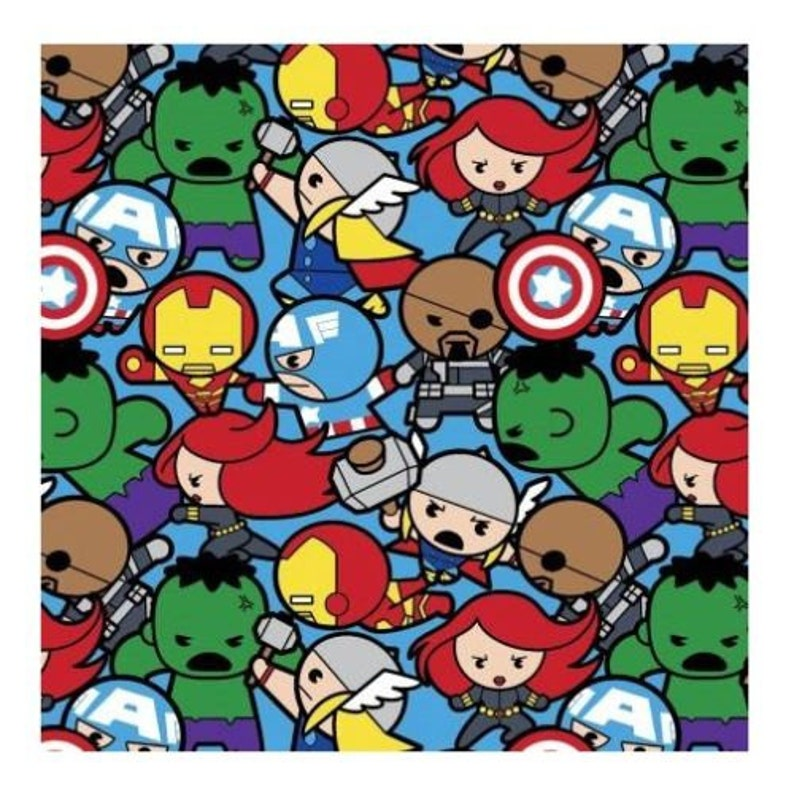 Mario Characters Tossed on Navy Blue Cotton Fabric Great for Quilting, Sewing, Craft Projects, Throw Pillows /& More 1//2 Yard 1//2 Yard X 44