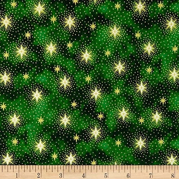 QT1275KK Christmas Eve Snowflakes  Quilting Treasures 100/% cotton Fabric by the yard