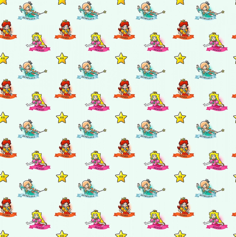 Nintendo Mario Fabric Nintendo Super Mario Mario Princesses
