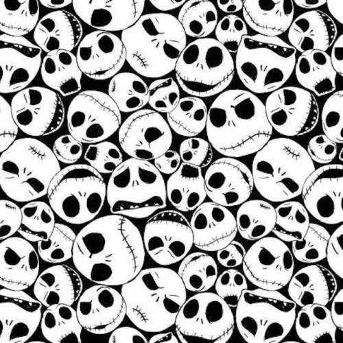 Disney Christmas Fabric By The Yard.Disney Fabric Nightmare Before Christmas Fabric Jack Faces