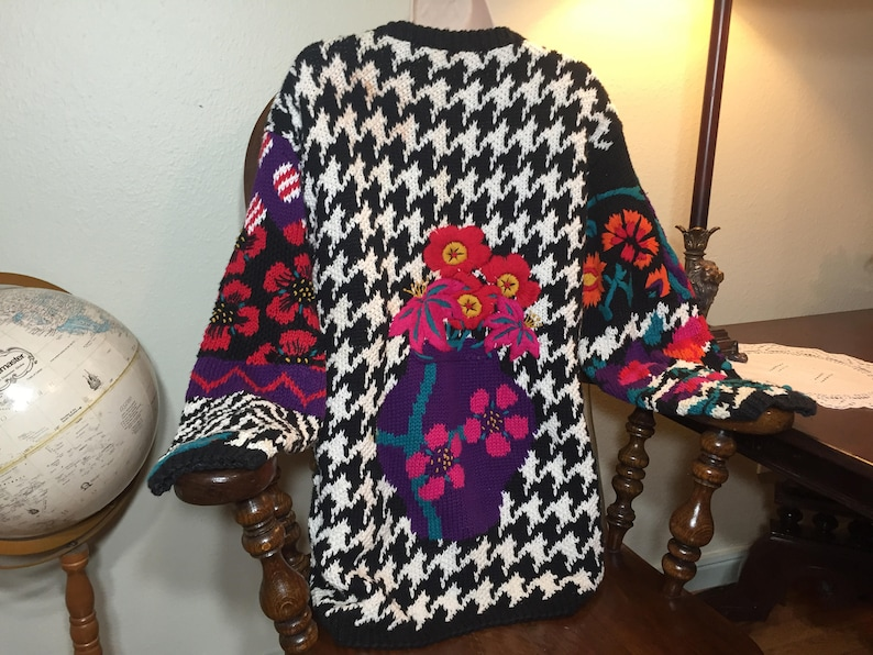 b063ed9d477f Des années 80 rad kit pull legers Cosby pull 90 s vêtements