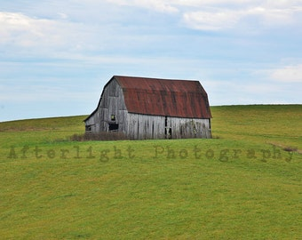 Barn Photograph, Country Photography, Rustic, Old Barn, Rustic Home Decor, Photography, Fine Art Print,