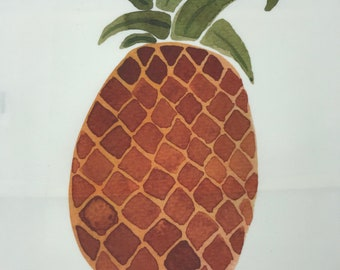 Indoor outdoor decorative Pineapple Pillow Cover, outdoor throw pillow, indoor decor pineapple pillow