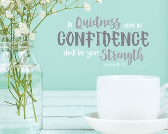 Quietness And Confidence One Year Diary
