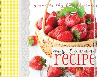 Strawberries Recipe Book