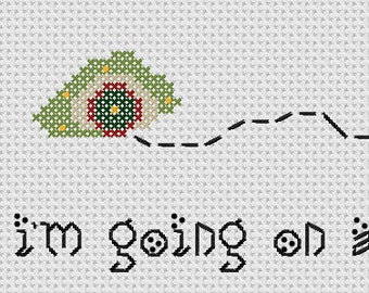 Hobbit Cross Stitch PATTERN ONLY