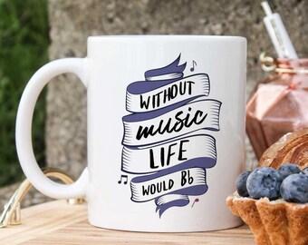 Band Mug - Band Gifts - Musician Gifts - Pianist Gifts - Music Mug - Violist Gifts - Guitar Player Gift - Piano Mug- Singer Orchestra Gifts