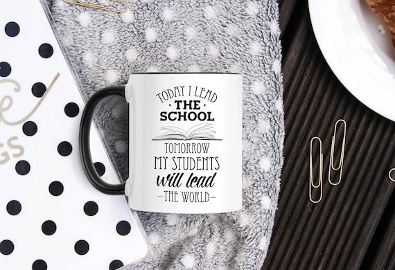 School Principal Mug School Principal Gifts Thank You Principal Principal Mugs Principal Gift Ideas From Student Christmas Present