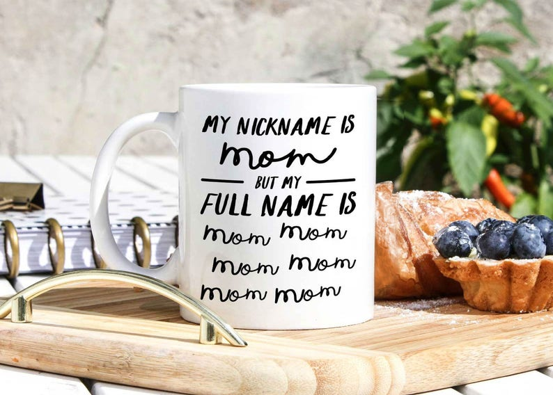 Funny Mom Cups Stay At Home Mug Life