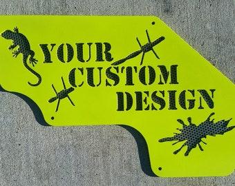 DEPOSIT ONLY! See full item description for total pricing! Custom Wrangler (JK/L) & Gladiator Inner Fender Design
